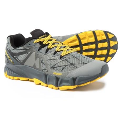 Merrell Agility Peak Flex Trail Running Shoes (For Men) in Wild Dove