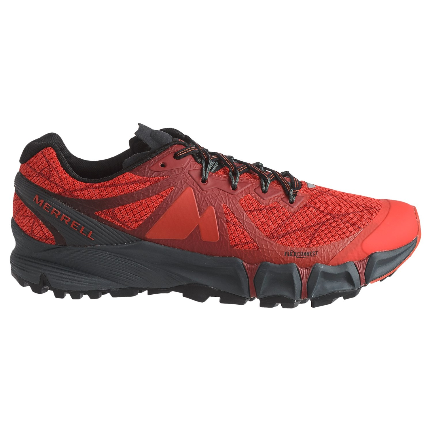 Mens Merrell Trainers - High Risk Red LN68181