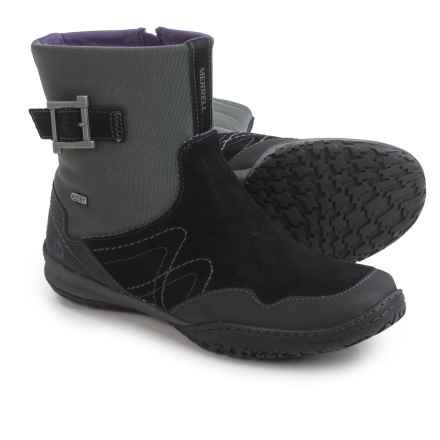 Merrell Albany Sky Boots - Waterproof (For Women) in Black - Closeouts