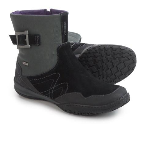 Merrell Albany Sky Boots - Waterproof (For Women) in Black