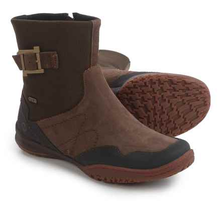 Merrell Albany Sky Boots - Waterproof (For Women) in Espresso - Closeouts