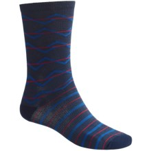 Merrell Aldgate CoolMax® Socks - Crew (For Men) in Navy/Royal/Red - 2nds