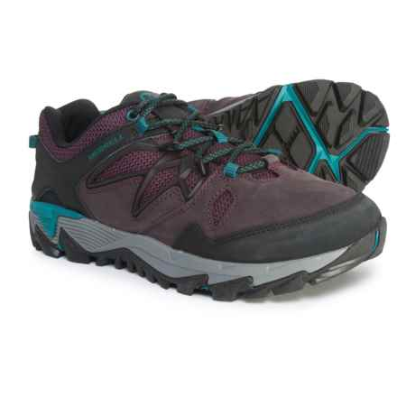 Merrell All Out Blaze 2 Hiking Shoes (For Women) in Berry - Closeouts