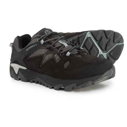 Merrell All Out Blaze 2 Hiking Shoes - Waterproof (For Men) in Black - Closeouts