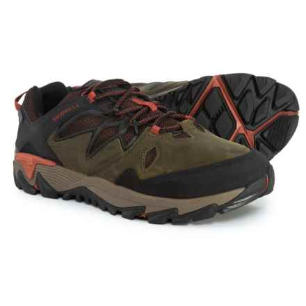 Merrell All Out Blaze 2 Hiking Shoes - Waterproof (For Men) in Dark Olive - Closeouts