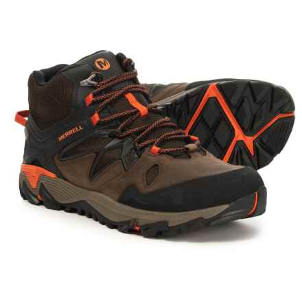 Merrell All Out Blaze 2 Mid Hiking Boots - Waterproof (For Men) in Clay - Closeouts