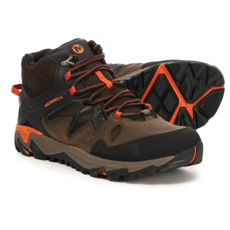 add2c3c14fc1 Merrell All Out Blaze 2 Mid Hiking Boots - Waterproof (For Men) in Clay