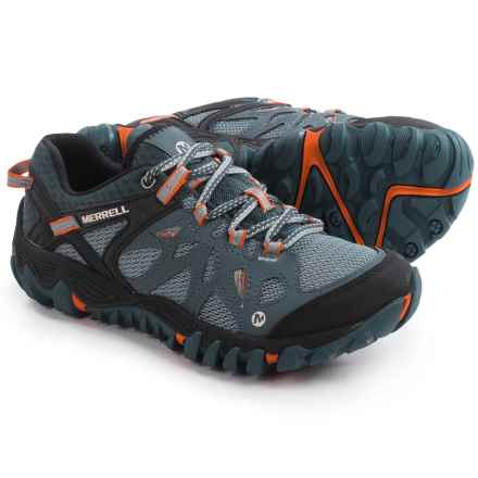Merrell All Out Blaze Aerosport Hiking Shoes (For Women) in Dark Slate - Closeouts