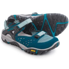 Merrell All Out Blaze Sieve Mary Jane Sport Sandals (For Women) in Blue - Closeouts