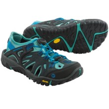 Merrell All Out Blaze Sieve Shoes (For Women) in Blue Wing - Closeouts