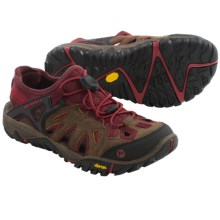 Merrell All Out Blaze Sieve Shoes (For Women) in Brown Sugar - Closeouts