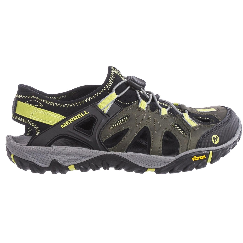 Merrell All Out Blaze Sieve Sport Sandals For Men Save 50