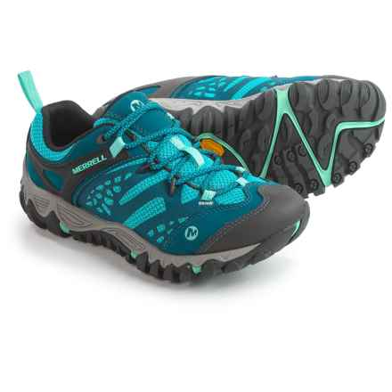 Merrell All Out Blaze Vent Hiking Shoes (For Women) in Turquoise/Aqua - Closeouts