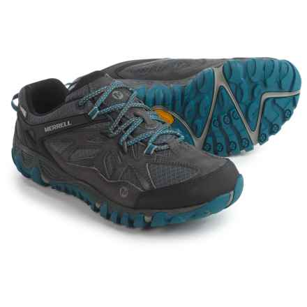 Merrell All Out Blaze Vent Hiking Shoes - Waterproof (For Men) in Grey/Multi - Closeouts