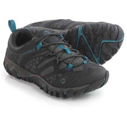 Merrell All Out Blaze Ventilator Hiking Shoes (For Women) in Black - Closeouts