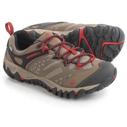 Merrell All Out Blaze Ventilator Hiking Shoes - Waterproof (For Women) in Brown - Closeouts