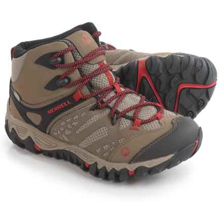 Merrell All Out Blaze Ventilator Mid Hiking Boots - Waterproof, Leather (For Women) in Brown - Closeouts