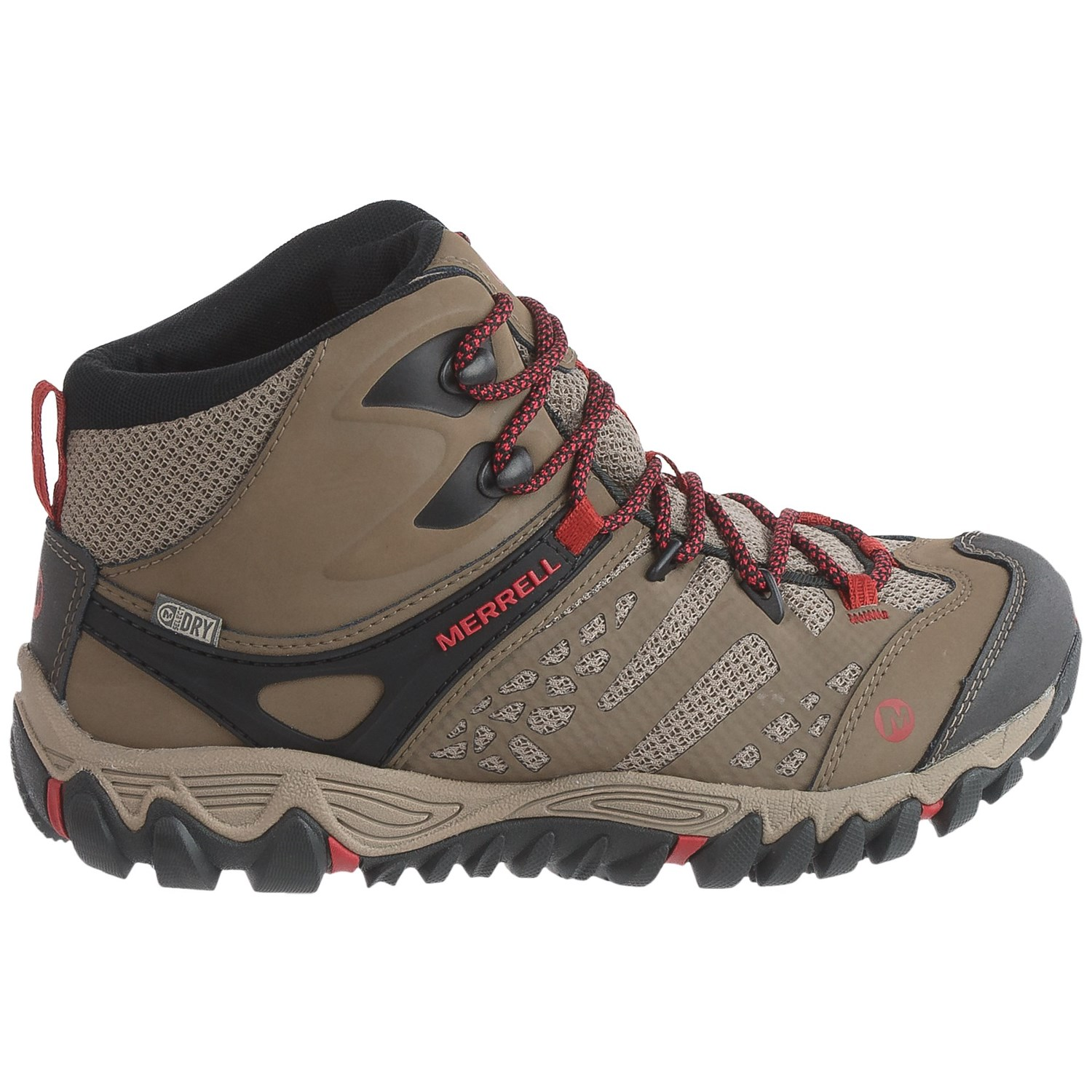 Merrell All Out Blaze Ventilator Mid Hiking Boots (For Women ...