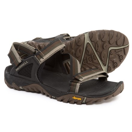 a61f881d8deb Merrell All Out Blaze Web Sport Sandals (For Men) in Dusty Olive - Closeouts