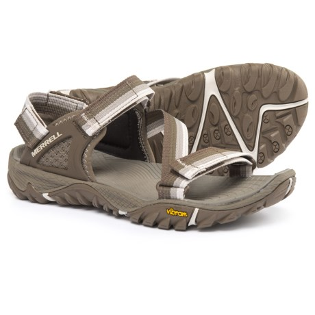 Merrell All Out Blaze Web Sport Sandals (For Women) in Aluminum