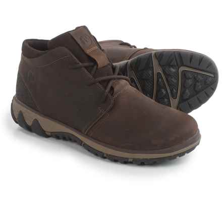 Merrell All Out Blazer Chukka Boots - Leather (For Men) in Clay - Closeouts