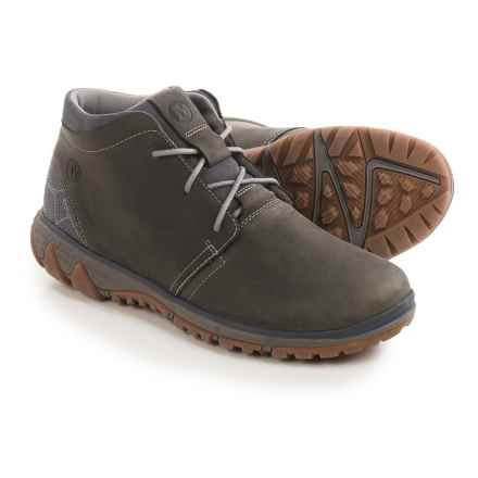 Merrell All Out Blazer Chukka Boots - Leather (For Men) in Pewter - Closeouts