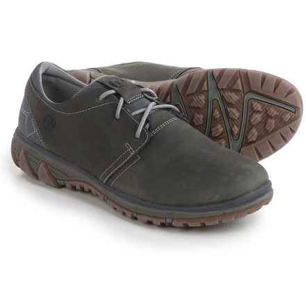 Merrell All Out Blazer Lace Shoes - Leather (For Men) in Pewter - Closeouts