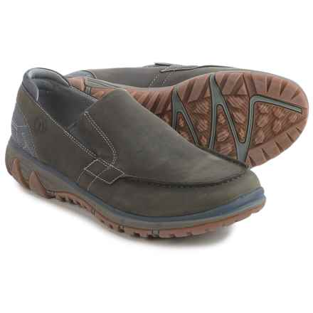 Merrell All Out Blazer Moc Shoes - Nubuck, Slip-Ons (For Men) in Pewter - Closeouts