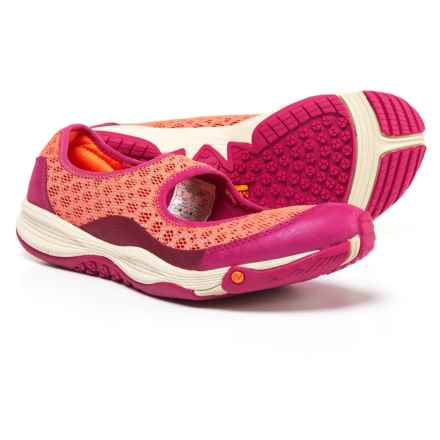 Merrell All Out Bold II Athletic Mary Jane Shoes - Slip-Ons (For Women) in Fushia - Closeouts