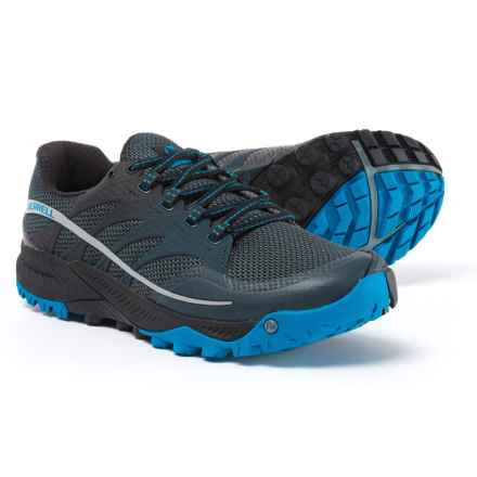 Merrell All Out Charge Trail Running Shoes (For Men) in Dark Slate - Closeouts