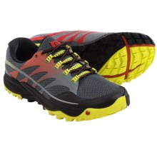 Merrell All Out Charge Trail Running Shoes (For Men) in Molten Lava/Bright Yellow - Closeouts
