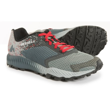 0ed956bbb40 Merrell All Out Crush 2 Trail Running Shoes (For Men) in Slate - Closeouts