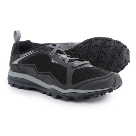 Merrell All Out Crush Light Trail Running Shoes (For Men) in Black
