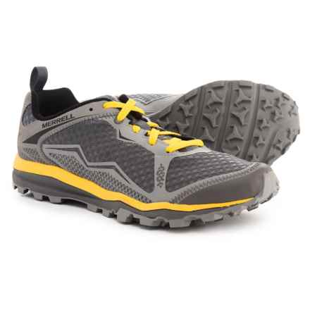 Merrell All Out Crush Light Trail Running Shoes (For Men) in Wild Dove - Closeouts