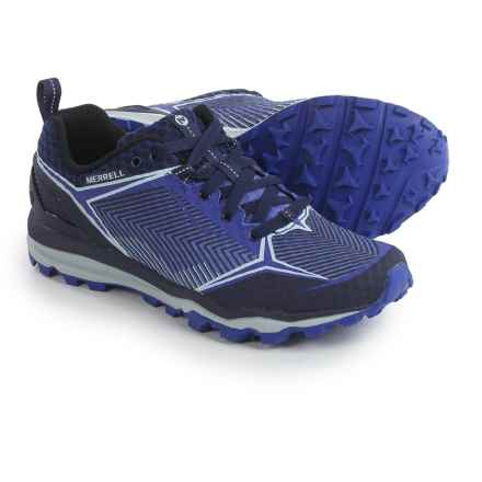 Merrell All Out Crush Shield Trail Running Shoes (For Women) in Surf The Web - Closeouts