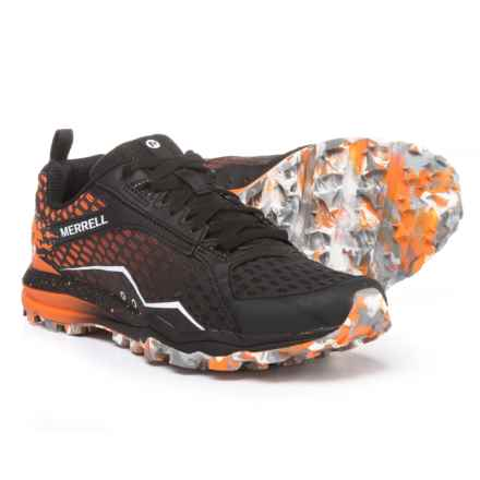 Merrell All Out Crush Tough Mudder Trail Running Shoes (For Women) in Orange - Closeouts