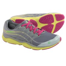 Merrell All Out Flash Shoes - Minimalist (For Women) in Light Grey/Sunny Yellow - Closeouts