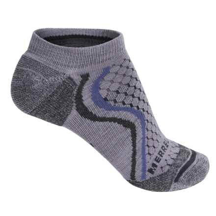 Merrell All Out Micro-Crew Socks - Merino Wool, Below the Ankle (For Women) in Hyacinth - Closeouts