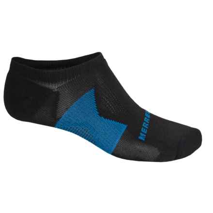 Merrell All Out NanoGLIDE Micro-Crew Socks - Below the Ankle (For Men) in Black - Closeouts