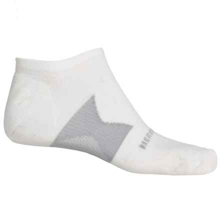 Merrell All Out NanoGLIDE Micro-Crew Socks - Below the Ankle (For Men) in White - Closeouts