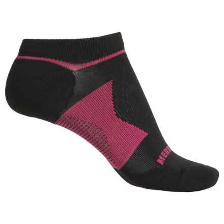 Merrell All Out NanoGlide Socks - Below the Ankle (For Women) in Black - Closeouts