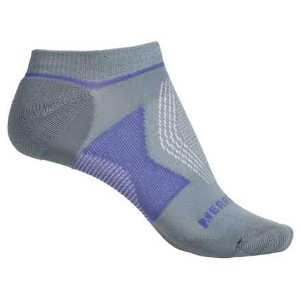 Merrell All Out NanoGlide Socks - Below the Ankle (For Women) in Sidewalk - Closeouts