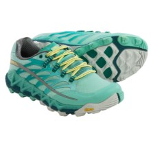 Merrell All Out Peak Trail Running Shoes (For Women) in Adventurine/Sea Blue - Closeouts