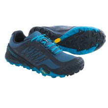 Merrell All Out Terra Ice Trail Running Shoes - Waterproof (For Men) in Navy/Racer Blue - Closeouts