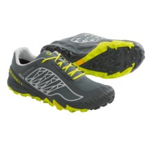 Merrell All Out Terra Ice Trail Running Shoes - Waterproof (For Men) in Turbulence/Yellow - Closeouts