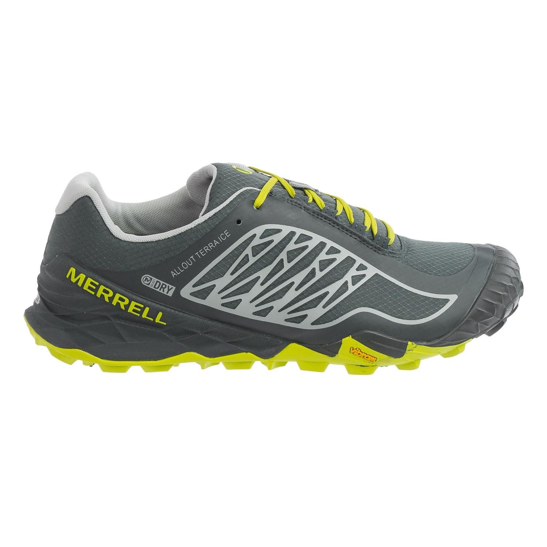 Are Merrell Running Shoes Waterproof