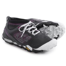 Merrell All Out Terra Trail Running Shoes (For Women) in Black/Purple - Closeouts