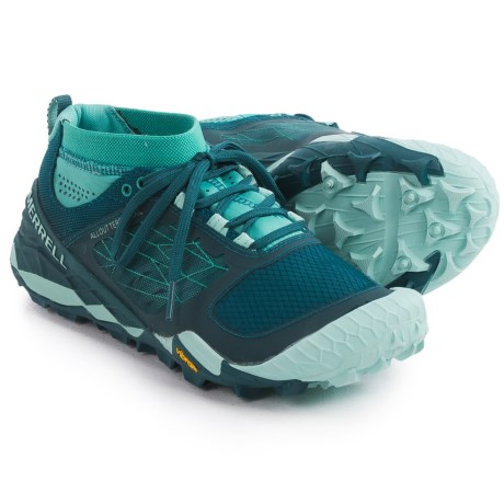 Merrell All Out Terra Trail Running Shoes (For Women)
