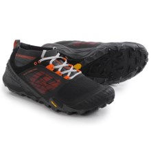 Merrell All Out Terra Trail Shoes (For Men) in Black/Orange - Closeouts