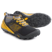 Merrell All Out Terra Trail Shoes (For Men) in Bright Yellow/Castle - Closeouts